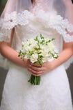 Beau plan rapproché de bouquet de mariage image libre de droits