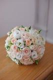 Beau plan rapproché de bouquet de mariage photos libres de droits