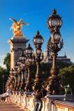 Beau pont d'Alexandre III Photo libre de droits