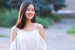 Beau portrait asiatique de fille image libre de droits