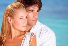 Beau portrait de couples Photographie stock libre de droits