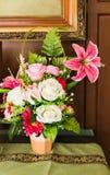 Beau pot de fleur Photos stock