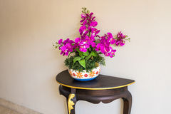 Beau pot de fleur Photographie stock libre de droits