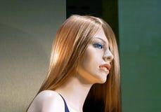 Beau profil fictif femelle images stock