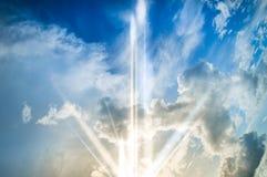 Beau résumé de ciel et de nuage, utilisé comme fond et texture photo stock
