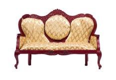 Beau rétro sofa Photographie stock