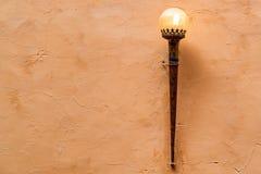 Beau réverbère en Amer Fort dans l'Inde Images libres de droits