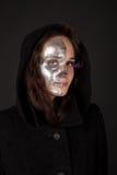 Beau regard two-faced de sorcière Image libre de droits