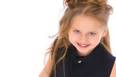 Beau rire de petite fille photo stock