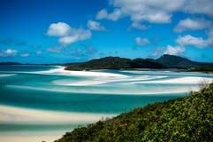Beau sable tourbillonné Photos stock