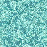 beau sans joint floral Image stock