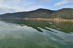 Beau scape de lac Images stock