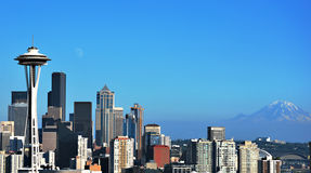 beau Seattle Photo libre de droits