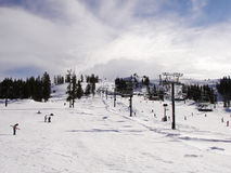 Beau Ski Range Image libre de droits