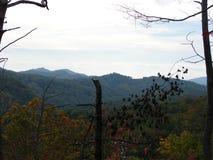 Beau Smokey Mountains en automne image stock