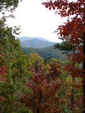 Beau Smokey Mountains en automne Photographie stock