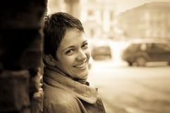 Beau sourire photographie stock libre de droits