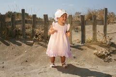 Beau sourire de bébé Photographie stock