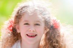 Beau sourire de petite fille photo libre de droits