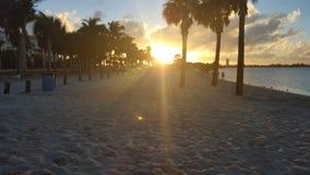 Beau St Lucie Sunset de port en Floride Image libre de droits