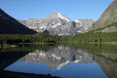 Beau stationnement national de glacier Photographie stock libre de droits