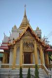 Beau stupa en Wat Samien Nari Temple à Bangkok Thaïlande Photographie stock libre de droits