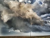 Beau supercell photographie stock