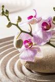Beau symbole de la féminité de zen Photographie stock