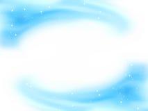 Beau temlate de cadre de l'hiver. ENV 8 Image stock