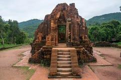 Beau temple à mon sanctuaire de fils, Vietnam Image libre de droits