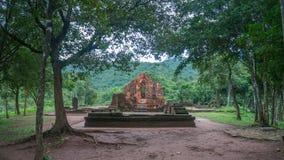 Beau temple à mon sanctuaire de fils, Vietnam Images libres de droits