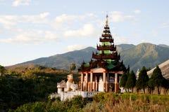 Beau temple Image libre de droits