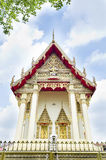 Beau temple bouddhiste thaïlandais. Wat Ka Ma La Vat, Bangkok, Thail images libres de droits