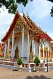Beau temple bouddhiste, Thaïlande photos stock
