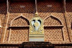 Beau temple en Thaïlande Photo stock