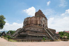 Beau temple thaï photo stock