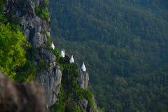 Beau temple thaïlandais de Wat Chalermprakiat Prajomklao Rachanusorn Photo libre de droits
