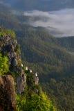 Beau temple thaïlandais de Wat Chalermprakiat Prajomklao Rachanusorn Images libres de droits