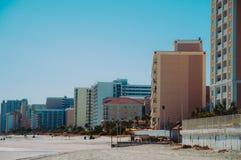 Beau temps de plage Photographie stock