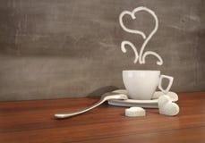 Beau temps de thé illustration de vecteur