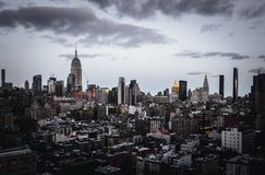 Beau tir de New York images stock