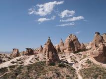 Beau tir des formations de roche également connues sous le nom de photo stock