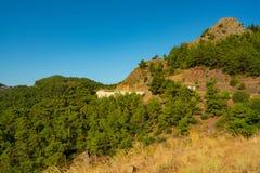 Beau tir rocheux turc de paysage Images libres de droits