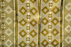 Beau tissu africain Photo stock