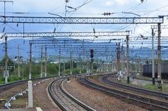Beau tour du chemin de fer, jour de photo, été Photos libres de droits