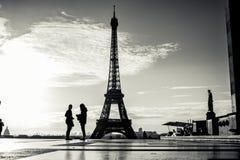 Beau Tour Eiffel Paris Photo stock