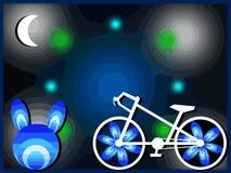 Beau vélo image stock