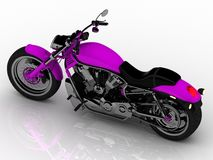 Beau vélo dur lumineux Image stock