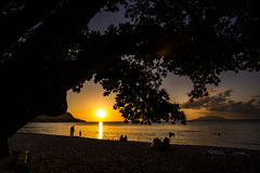 Beau Vallon Beach Stockfotos