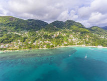 Beau Vallon Beach Royalty Free Stock Images